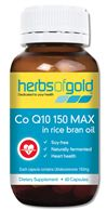 Co Q10 150 Max By Herbs Of Gold