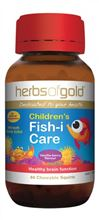 Childrens Fish I Care By Herbs Of Gold