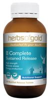 B Complete Sustained Release By Herbs Of Gold