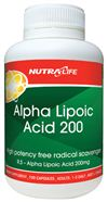 Alpha Lipoic Acid 200 By Nutrlife