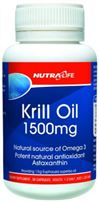 Krill Oil 1500mg By Nutralife